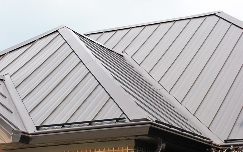 erie metal roofing